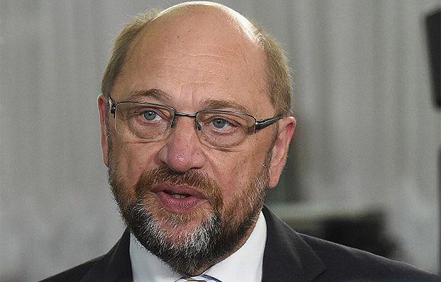"""Szef PE Martin Schulz krytykuje koncepcję """"kontrrewolucji kulturowej"""" Jarosława Kaczyńskiego"""