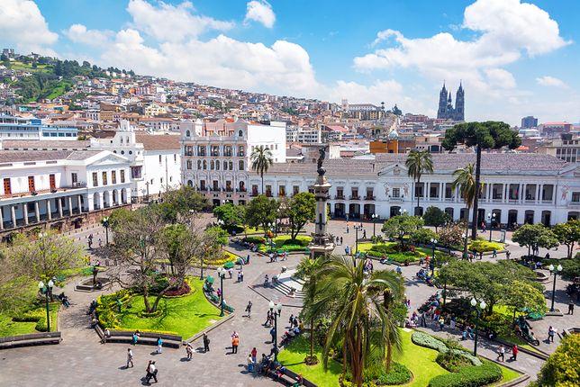 Ekwador - z miasta do dżungli