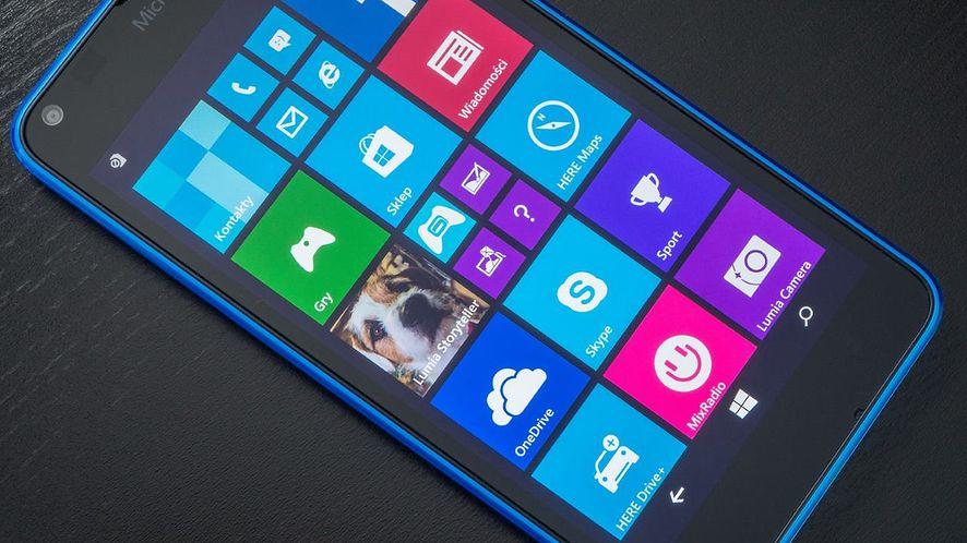 Rozwój mobilnego Windowsa porzucony – nie pojawią się już nawet wersje testowe