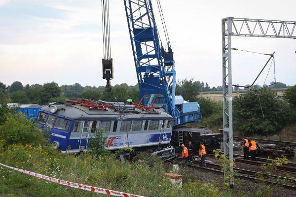 Katastrofa kolejowa w miejscowości Baby, 2011 r.
