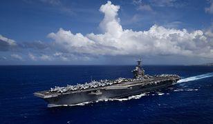 Koronawirus na świecie. Lotniskowiec USS Theodore Roosevelt ewakuowany z powodu epidemii.