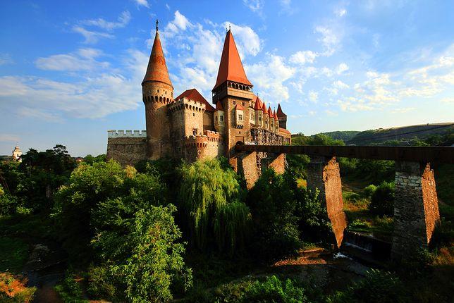 Atrakcje Rumunii - Zamek w Hunedoarze