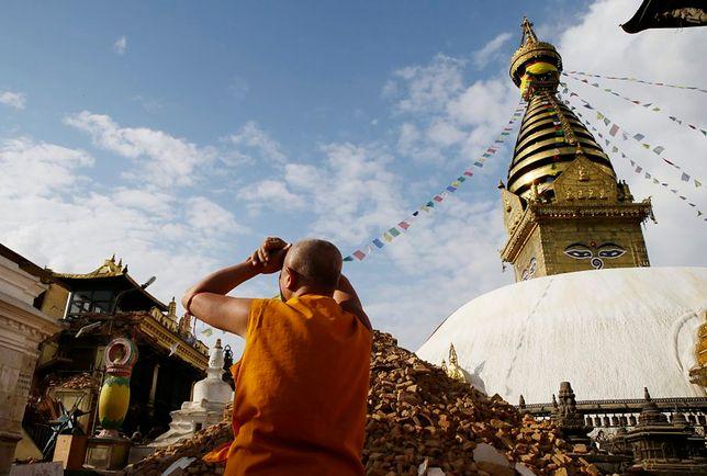 Katmandu - tragiczne w skutkach wstrząsy