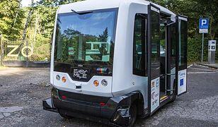 Gdańsk. Autonomiczny bus zawiezie na grób bliskiej osoby