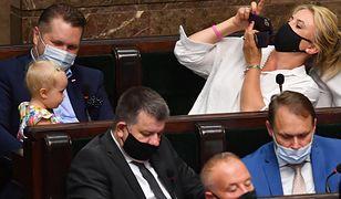 Niemowlę na obradach Sejmu. Czarzasty nie wytrzymał. Posłanka oburzona