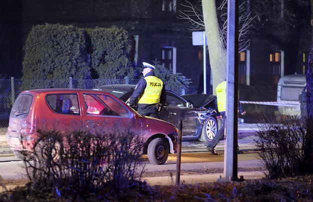 Wypadek w Oświęcimiu: kierowca widział zbliżający się samochód