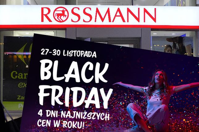 Black Friday 2020 w Rossmann. Te promocje trwają aż przez 4 dni