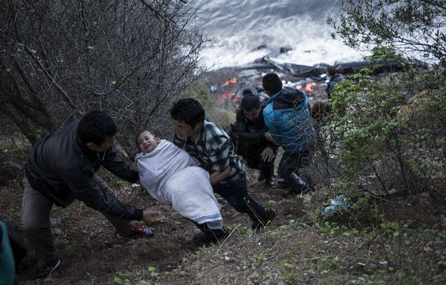 Na Morzu Egejskim utonęło 11 migrantów, w tym sześcioro dzieci