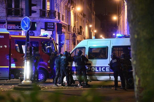 Terror na ulicach francuskiej stolicy
