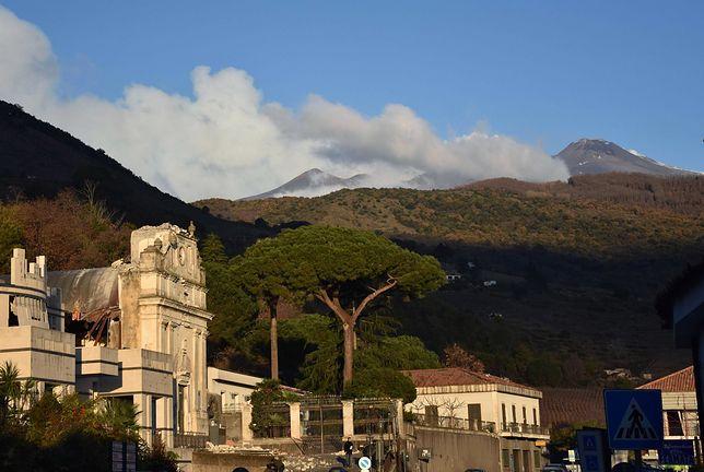 Eksperci obawiają się kolejnych erupcji Etny