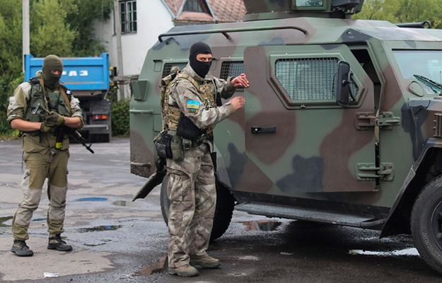 Dwoje milicjantów rannych w zamachach na komisariaty we Lwowie