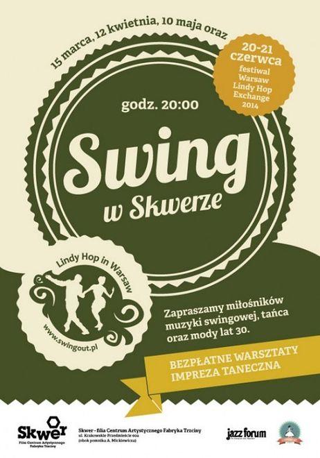 """Za darmo: kolejna edycja """"Swingu w Skwerze"""" [WIDEO]"""