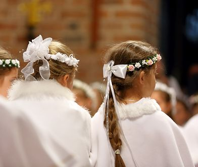 Co roku setki dzieci idą do pierwszej komunii świętej