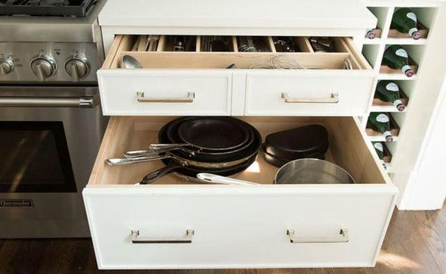 Ile miejsca powinno być w kuchni? Jakie rozwiązania do przechowywania  wziąć pod uwagę?