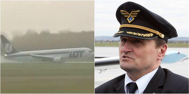 6 lat temu kapitan Wrona lądował awaryjnie na warszawskim Okęciu.