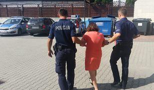 Zatrzymanej 45-latce postawiono dwa zarzuty karne