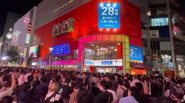 Pożegnano legendarne centrum gier Sega. Ulice byłe pełne fanów - Centrum Sega Ikebukuro Gigo istniało 28 lat.