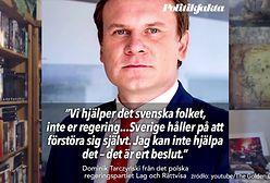 To nie Polska pomaga Szwecji i Szwedom, a Unia Europejska