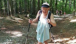Niewidomy staruszek zdobywa szczyt. Wchodzi na niego regularnie od ponad 60 lat
