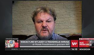 Dr Marek Posobkiewicz: Pojawienie się nowych wariantów to kwestia czasu