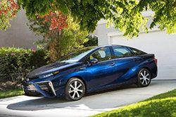 Toyota Mirai z nowym typem ogniw paliwowych