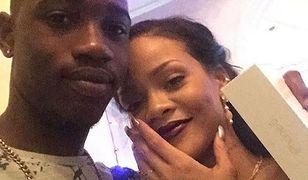 Rihanna i jej kuzyn.
