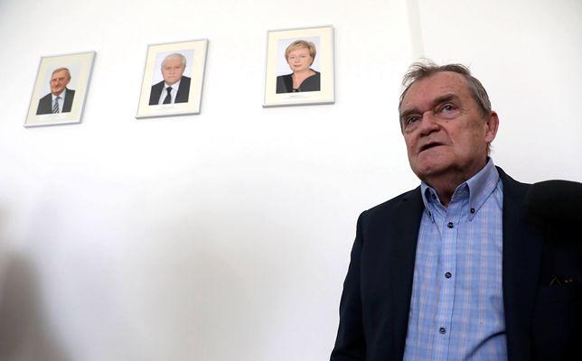 Sędzia Wiesław Johann nie chciał udzielić żadnych informacji na temat spotkania w Kancelarii Prezydenta