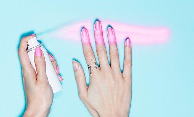 Nowość w świecie paznokci: lakier w formie sprayu