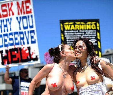 Go-Topless! Kobiety żądają równych praw!