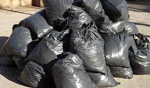 Worki na śmieci będą oklejone kodami kreskowymi