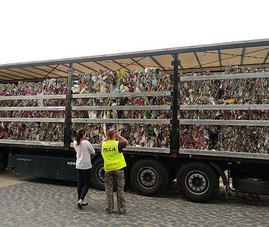 Pod Opolem przechwycono nielegalny transport śmieci. Jechał z Niemiec