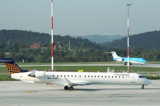 Lotnisko w podkrakowskich Balicach