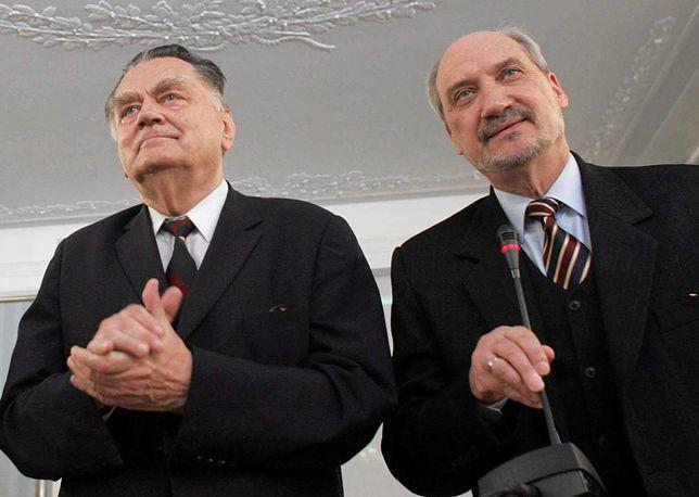 Głos ws. Antoniego Macierewicza zabrał były premier Jan Olszewski