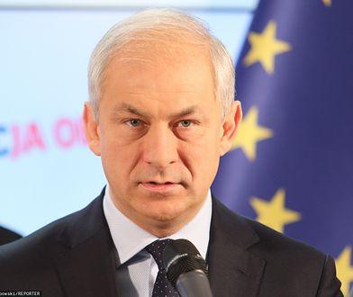 Grzegorz Napieralski odcina się od lewicy. Skrytykował Roberta Biedronia