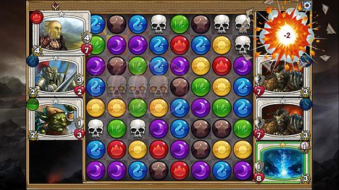 Gems of War na weekend – udana karcianka dla fanów Puzzle Questa
