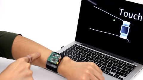 SkinTrack: twoja skóra jako dotykowy interfejs smartwatcha