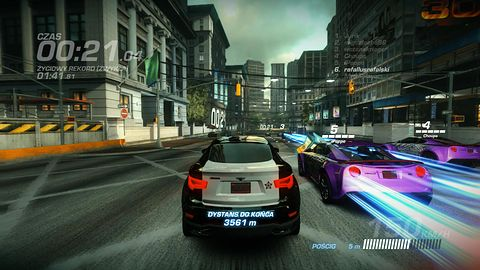 Ridge Racer Driftopia na weekend