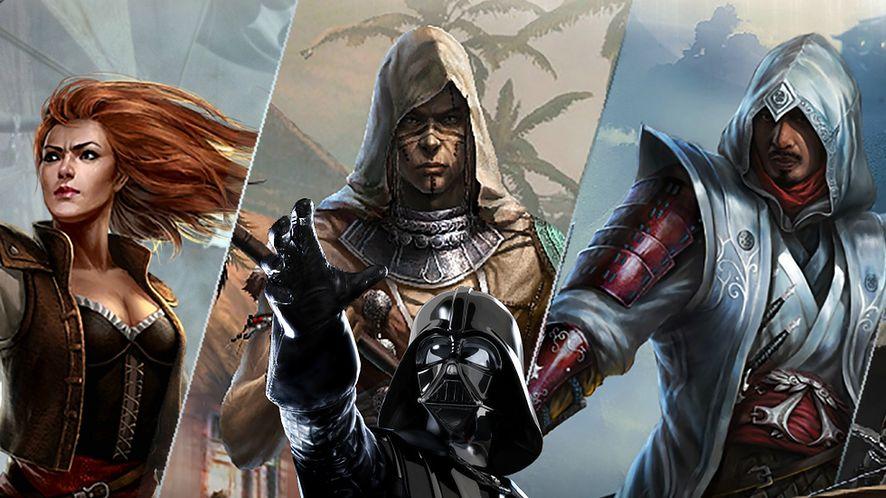 Zabójcy kontra Vader, czyli darmowe gry Assassin's Creed i Star Wars w App Store
