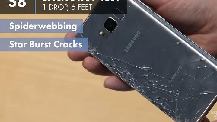 Samsung Galaxy S8: być może najmniej wytrzymały smartfon w historii