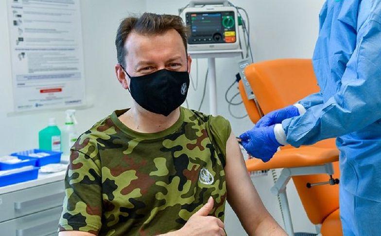 Mariusz Błaszczak zaszczepił się na COVID-19. Apel ministra obrony