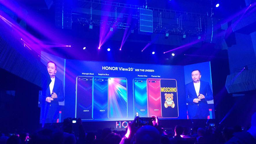 Światowa premiera Honor View20