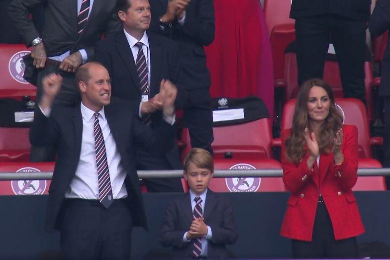 Niebywała radość Williama i Kate po golu Anglii. Zdjęcie mówi wszystko