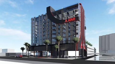 Atari uruchomi sieć hoteli, czyli podróż w konwencji gier wideo