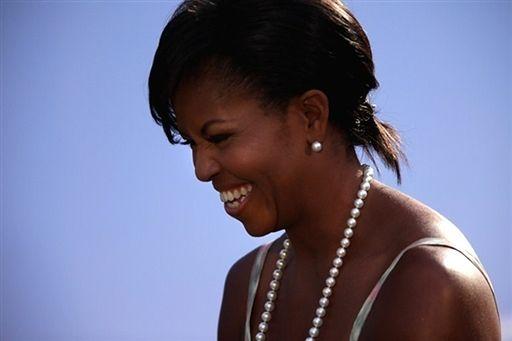 """""""Kontrowersyjna"""" kreacja Michelle Obamy - zdjęcia"""