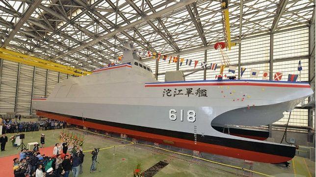 """Tajwan pokazał """"niszczyciel lotniskowców"""". Okręt, który ma zatrzymać Chiny"""