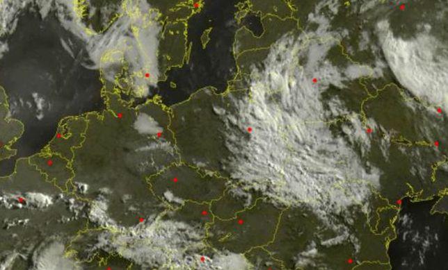 Ex-Humberto dociera do Polski i wywoła opady deszczu.