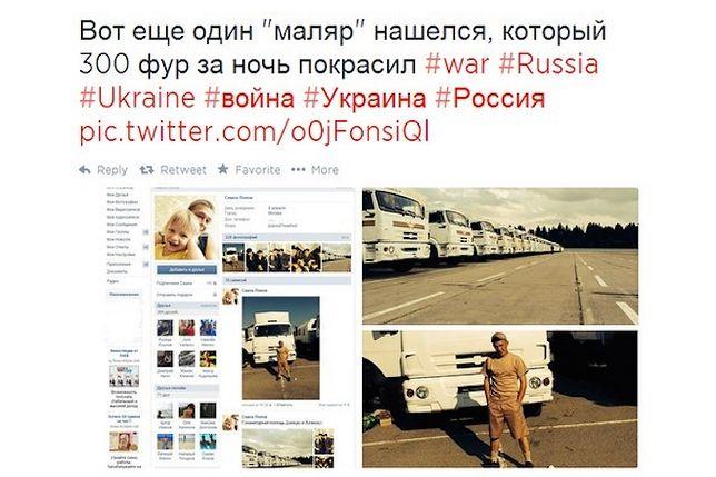Rosyjski żołnierz znowu zdradził wojskowe tajemnice
