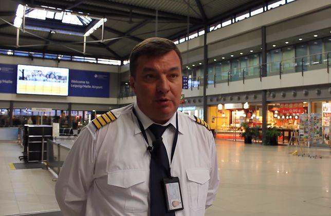 Dmitrij Antonow był kapitanem An-225 podczas lotu do Warszawy z Chin