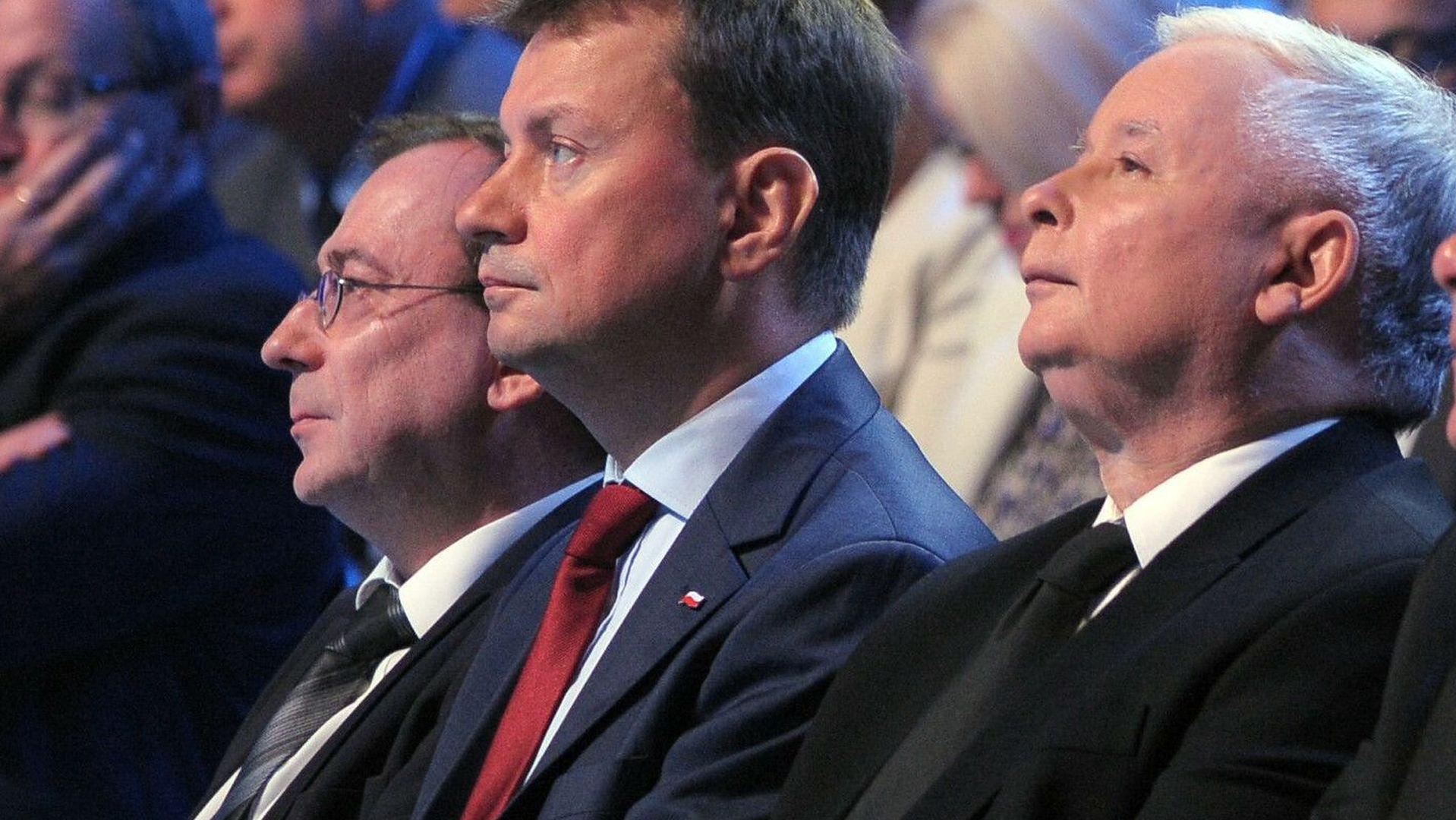 Mariusze PiS, czyli pretorianie prezesa Kaczyńskiego
