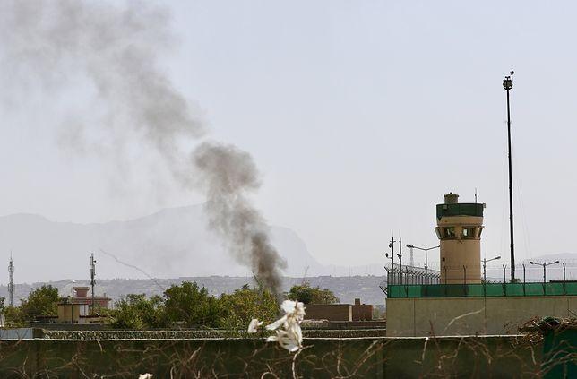 Atak rakietowy na Kabul podczas wizyty ministra obrony USA Jamesa Mattisa